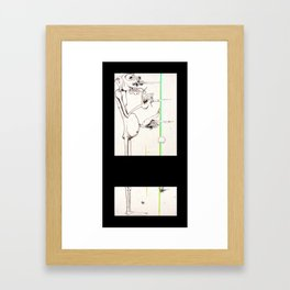 Mile's Warlock Framed Art Print