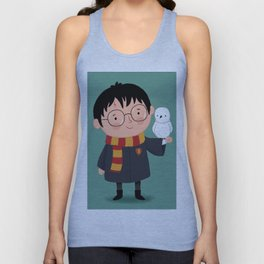 Harry and Hedwig Unisex Tank Top