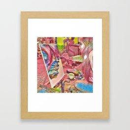 The Universe Inside My Head Framed Art Print