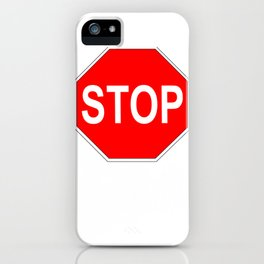 Real Food Stop Asartme iPhone Case