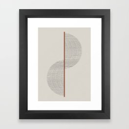 Geometric Composition II Framed Art Print