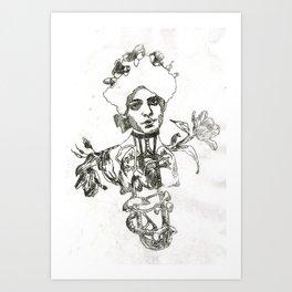 Bronchial tubes Art Print
