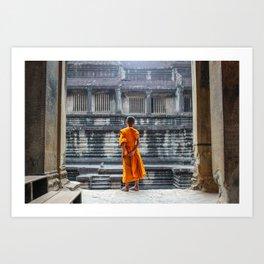 Temple Dwellers Art Print