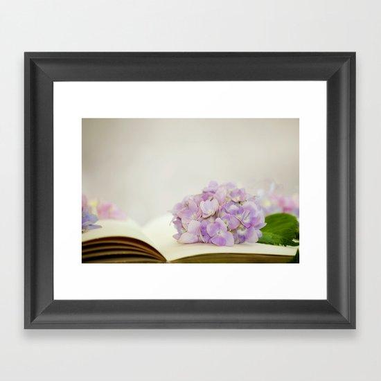 Every Flower Tells A Story Framed Art Print