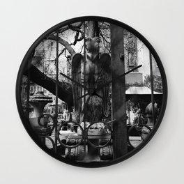 Elizabeth Street Garden V Wall Clock