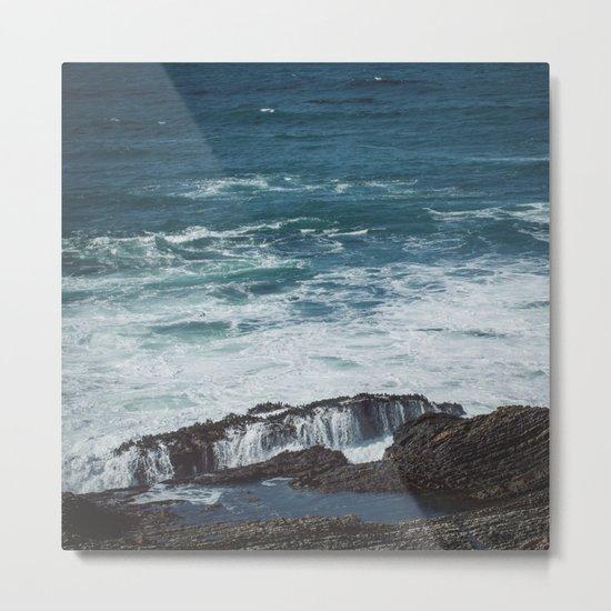 Pacific Blue Metal Print