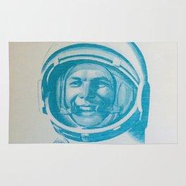 Russian Cosmonaut Poster Rug