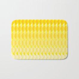 pattern leaves in the sunlight Bath Mat