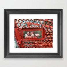 Art Drugs Framed Art Print