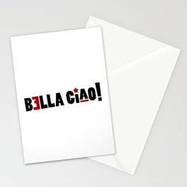 Bella Ciao 3 Stationery Cards