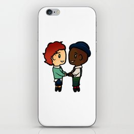 Wylan x Jesper - Six of Crows / Crooked Kingdom (B) iPhone Skin