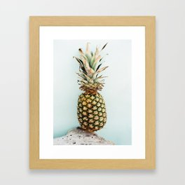 Tropical Pineapple - Bahamas - Travel Photography Framed Art Print