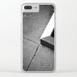 Street Details Clear iPhone Case