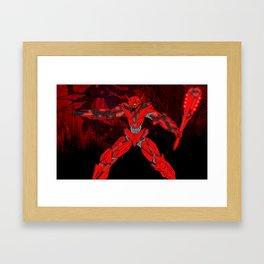 Ultracrash 6 Framed Art Print