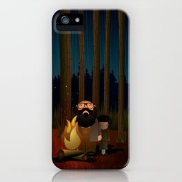 Where The Woods Finds Us iPhone Case