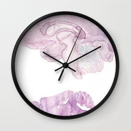 Human/Mouse Wall Clock