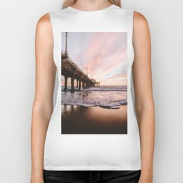 MANHATTAN BEACH PIER Biker Tank