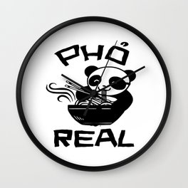 pho panda real Wall Clock