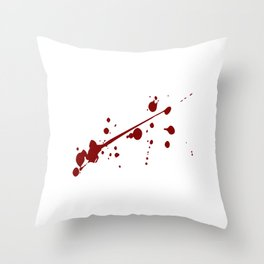 """Is My Bike Ok? Biking T-shirt For Bikers With Unique Awesome Style """"BMX"""" T-shirt Design Upside Down Throw Pillow"""