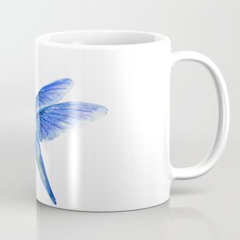 WATERCOLOR HUMMINGBIRD AND FLOWERS Coffee Mug