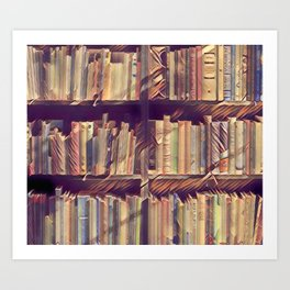 Book Geek Art Print