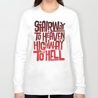acdc Long Sleeve T-shirts featuring HEAVEN AND HELL by All Kings