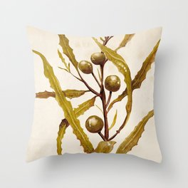 Sargassum Throw Pillow