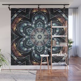 Mandalas from the Voice of Eternity 4 Wall Mural