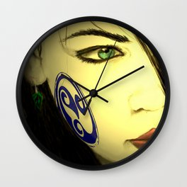 Aine Watching the Cliars Wall Clock