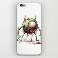 mike wrobel iPhone & iPod Skins featuring MIKE by The Art of Austen Mengler