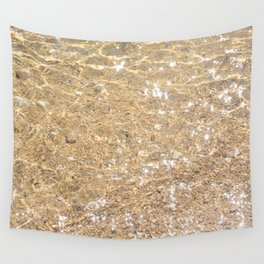 Clear sea Wall Tapestry