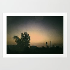 one october night. Art Print