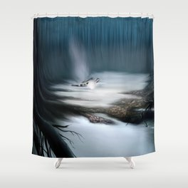 Swamps of Dagobah Shower Curtain