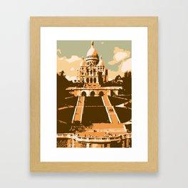 Sacré Coeur Montmartre Paris Framed Art Print