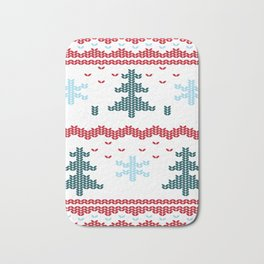 Ugly Christmas Bath Mat