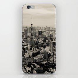 Sepia Tokyo iPhone Skin