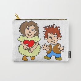 Give me your heart by Laila Cichos Carry-All Pouch