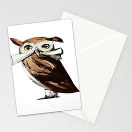 Magic cute Owl Stationery Cards
