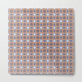 Flower color pattern 6 Metal Print