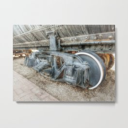 Stem Locomotive Wheels Metal Print