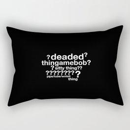 Drunk Deductions Rectangular Pillow