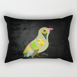 Singing Armenian Bird Rectangular Pillow
