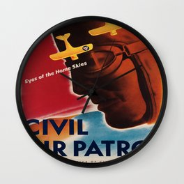 Vintage poster - Civil Air Patrol Wall Clock