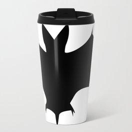 Silhouette Of A Bat  Travel Mug