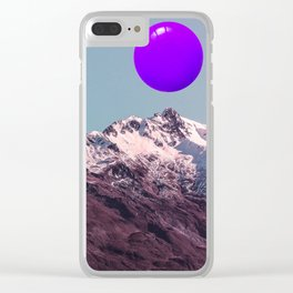 ultra violet sunrise Clear iPhone Case
