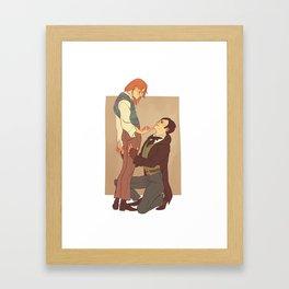 Parnasse/Jehan Framed Art Print
