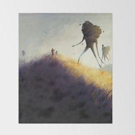 The Earth Giants Throw Blanket
