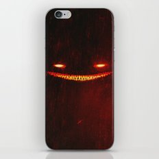 Smile (Red) iPhone & iPod Skin