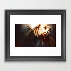 Great Demon King Framed Art Print