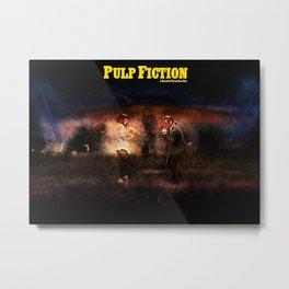 Pulp Fiction - Alternative Movie Poster Metal Print